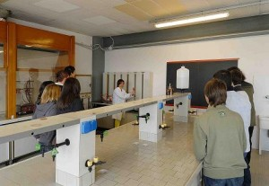 laboratorio chimica
